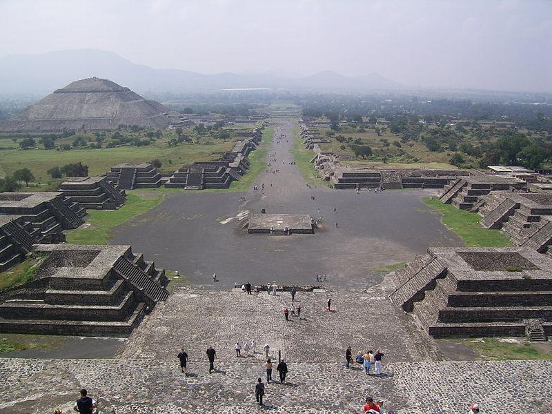 Pyramid of the Sun - Teotihuacan