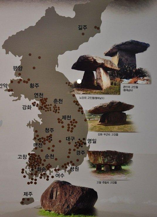 dolmens korea